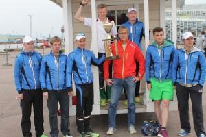 Jannen Iltalenkki & Old Horse Team voitti Kymijokiviestin 2015