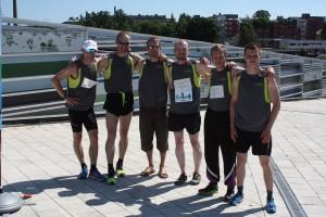 Jannen Iltalenkki Team voitti Kymijokiviestin 2013
